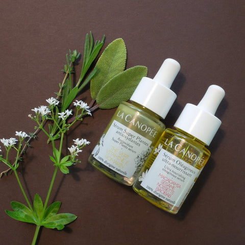 La Canopée Super Plants und Oleaginous Serum