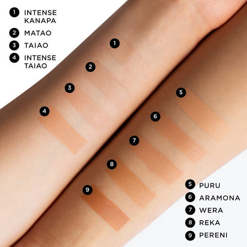 Nui Natural Foundation All Shades
