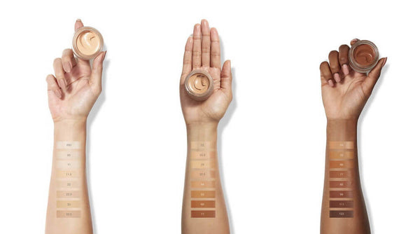 Un Cover Up Cream Foundation Swatches