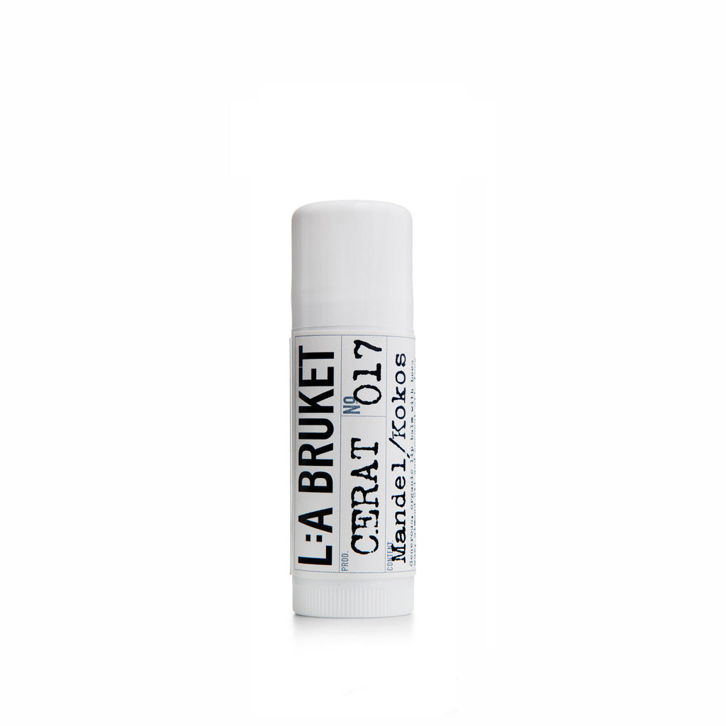 NO. 17 LIP BALM ALMOND/COCONUT 17 ML | L:A BRUKET | Natürlich, Vegan, Bio, Natural | Online Shop Blanda Beauty