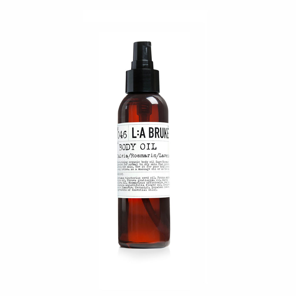 NO. 46 BODY OIL SAGE/ROSEMARY/LAVENDER 120 ML | L:A BRUKET | Natürlich, Vegan, Bio, Natural | Online Shop Blanda Beauty