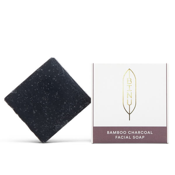 Binu Bamboo Charcoal Facial Soap 100 g