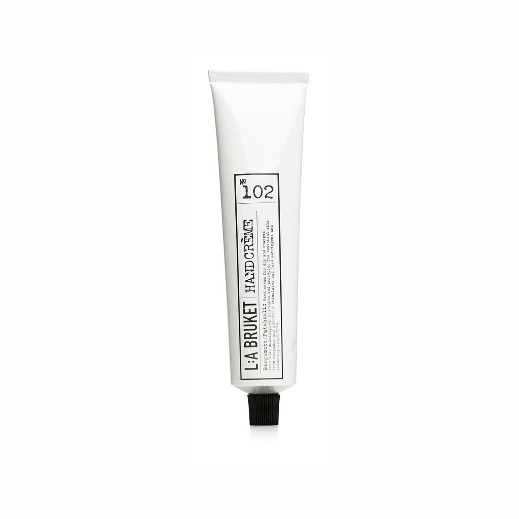 NO. 102 HAND CREAM BERGAMOT/PATCHOULI 70 ML | L:A BRUKET | Natürlich, Vegan, Bio, Natural | Online Shop Blanda Beauty