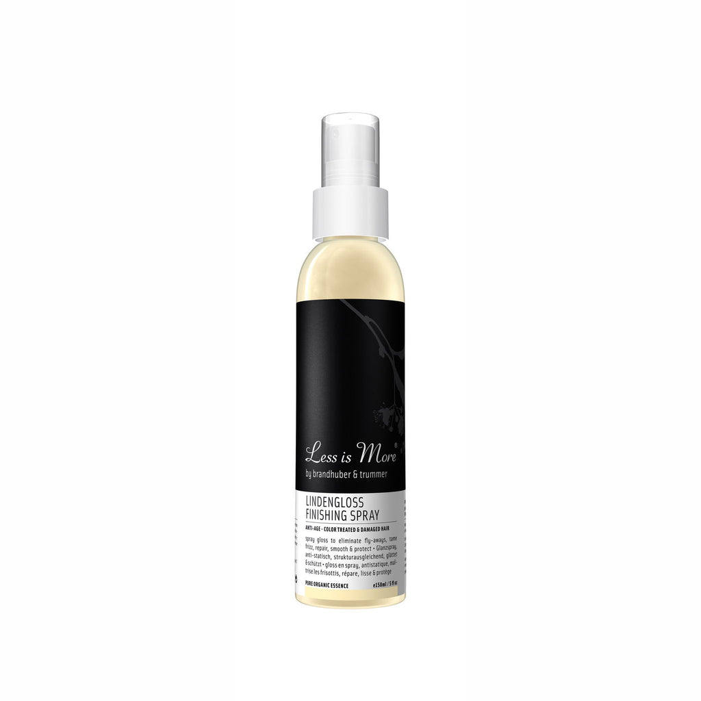 LINDENGLOSS FINISHING SPRAY 150 ML von LESS IS MORE | Natürliche vegane Kosmetik