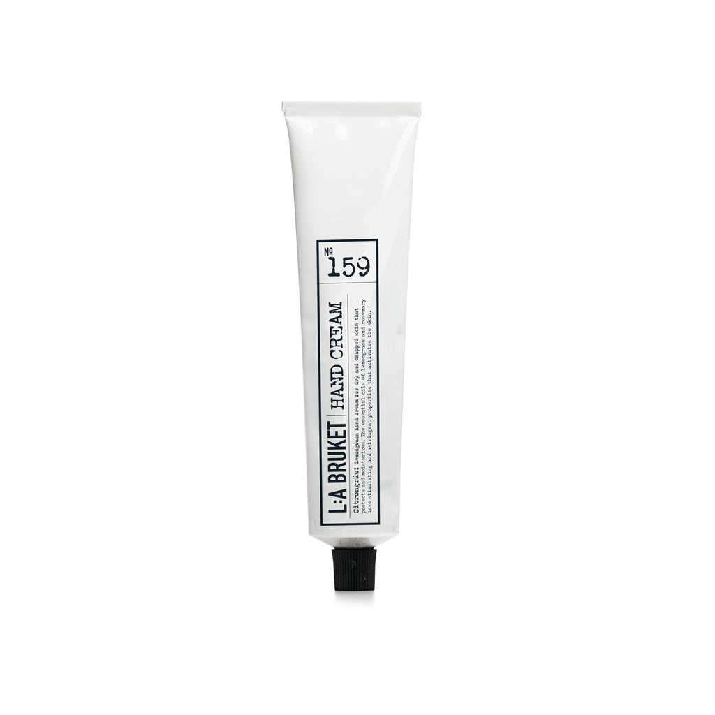 NO. 159 HAND CREAM LEMONGRASS 70 ML | L:A BRUKET | Natürlich, Vegan, Bio, Natural | Online Shop Blanda Beauty