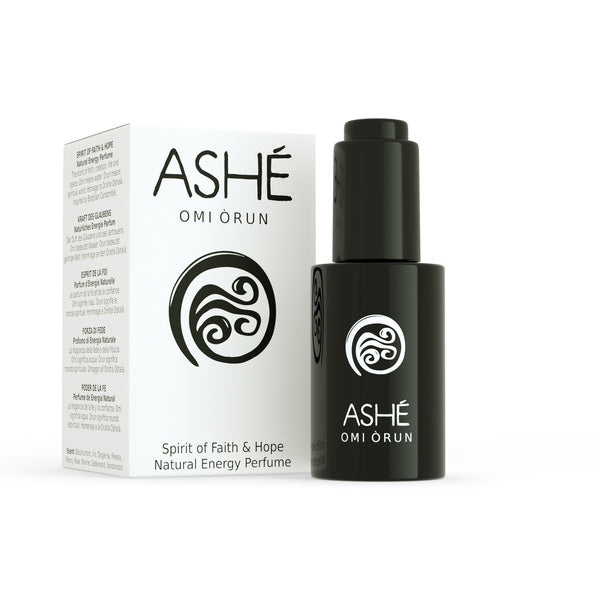 Ashé Omi Òrun - Natural Energy Perfume - with packaging