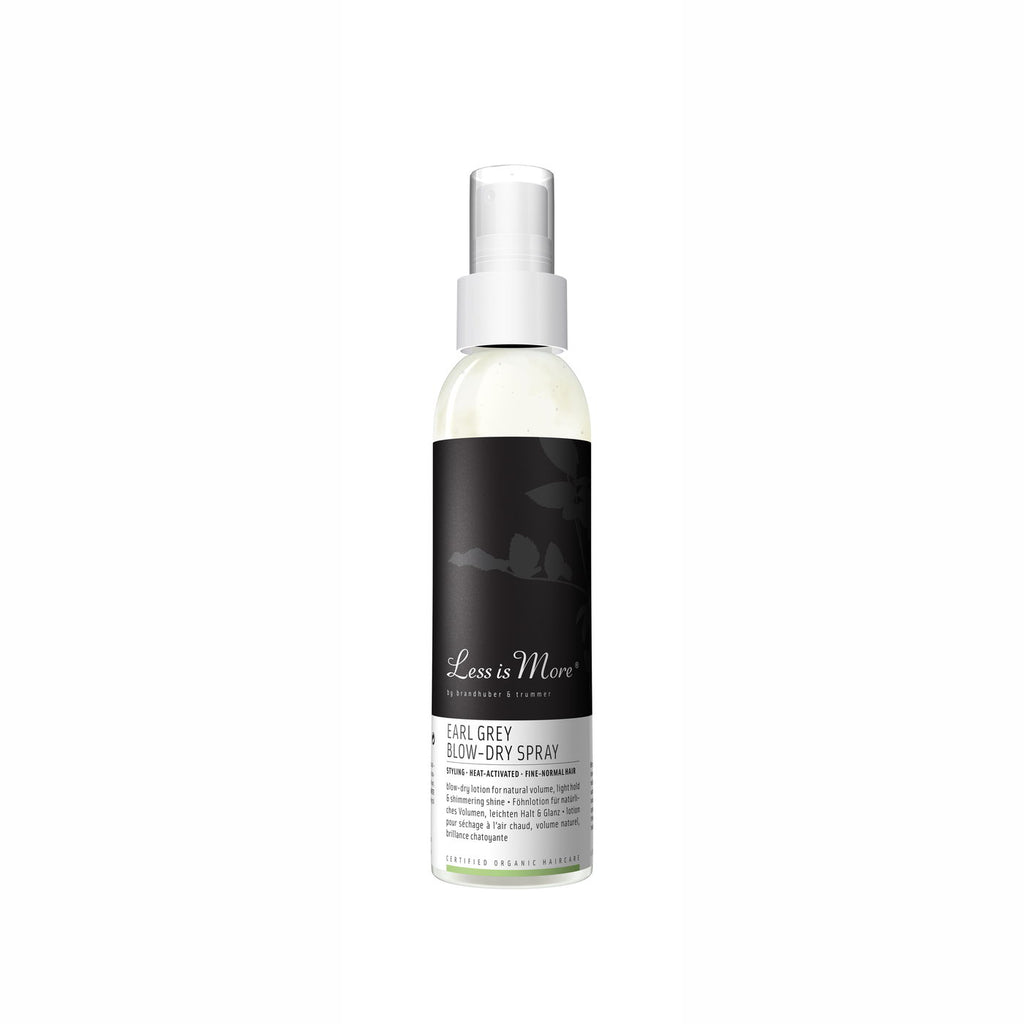 Earl Grey Blow-Dry Spray 150 ml von Less Is More | Styling | Naturkosmetik