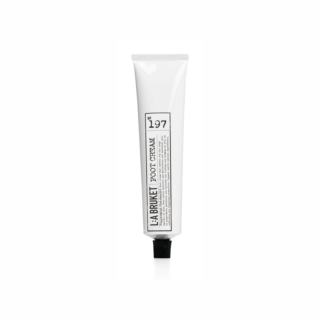 NO. 197 FOOT CREAM PEPPERMINT PATCHOULI 70 ML | L:A BRUKET | Natürlich, Vegan, Bio, Natural | Online Shop Blanda Beauty