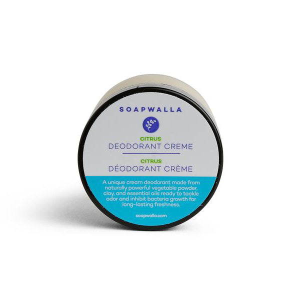 Soapwalla Kitchen Deodorant Cream Citrus 57 g