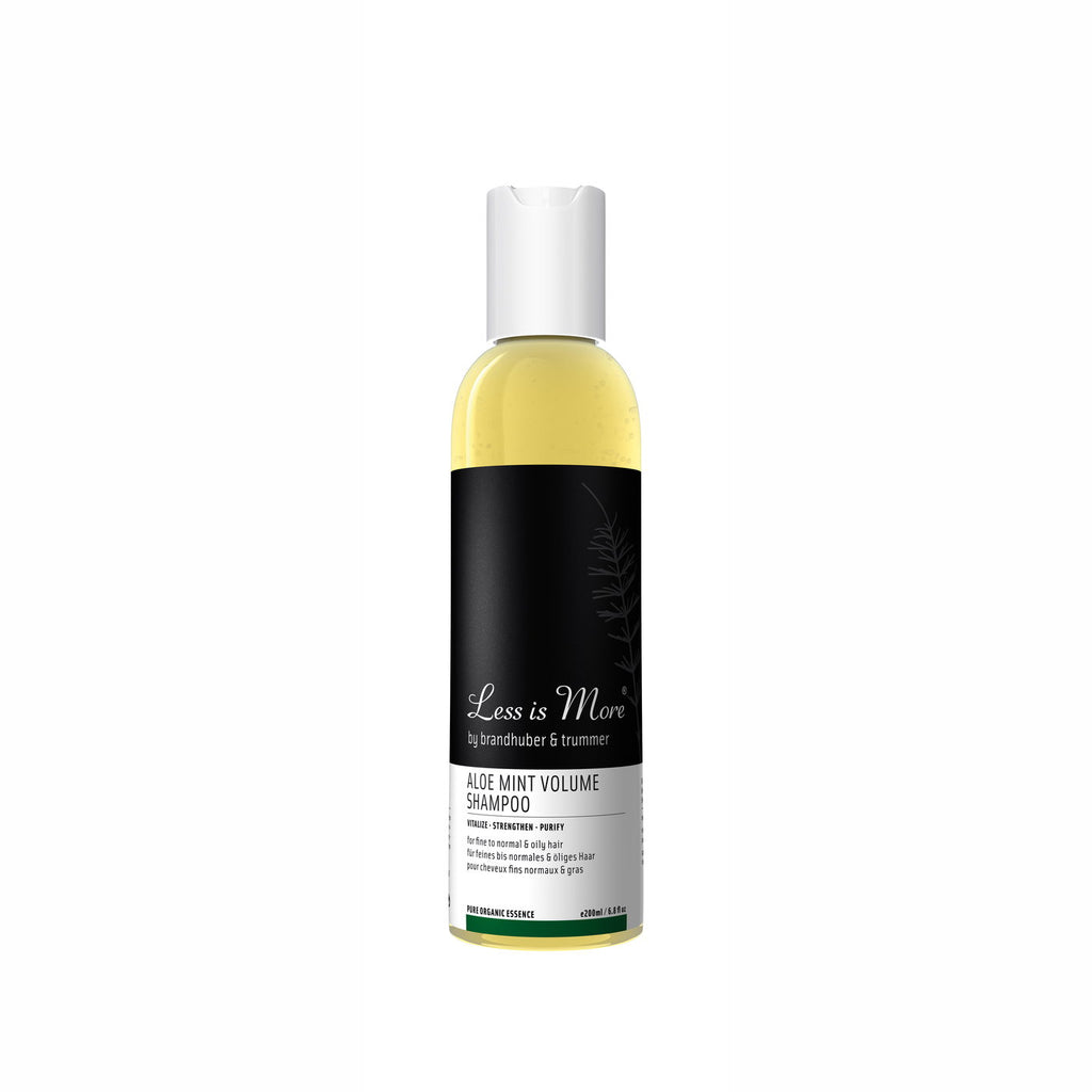 ALOE MINT VOLUME SHAMPOO 200 ML | LESS IS MORE | Natürlich, Vegan, Bio, Natural | Online Shop Blanda Beauty