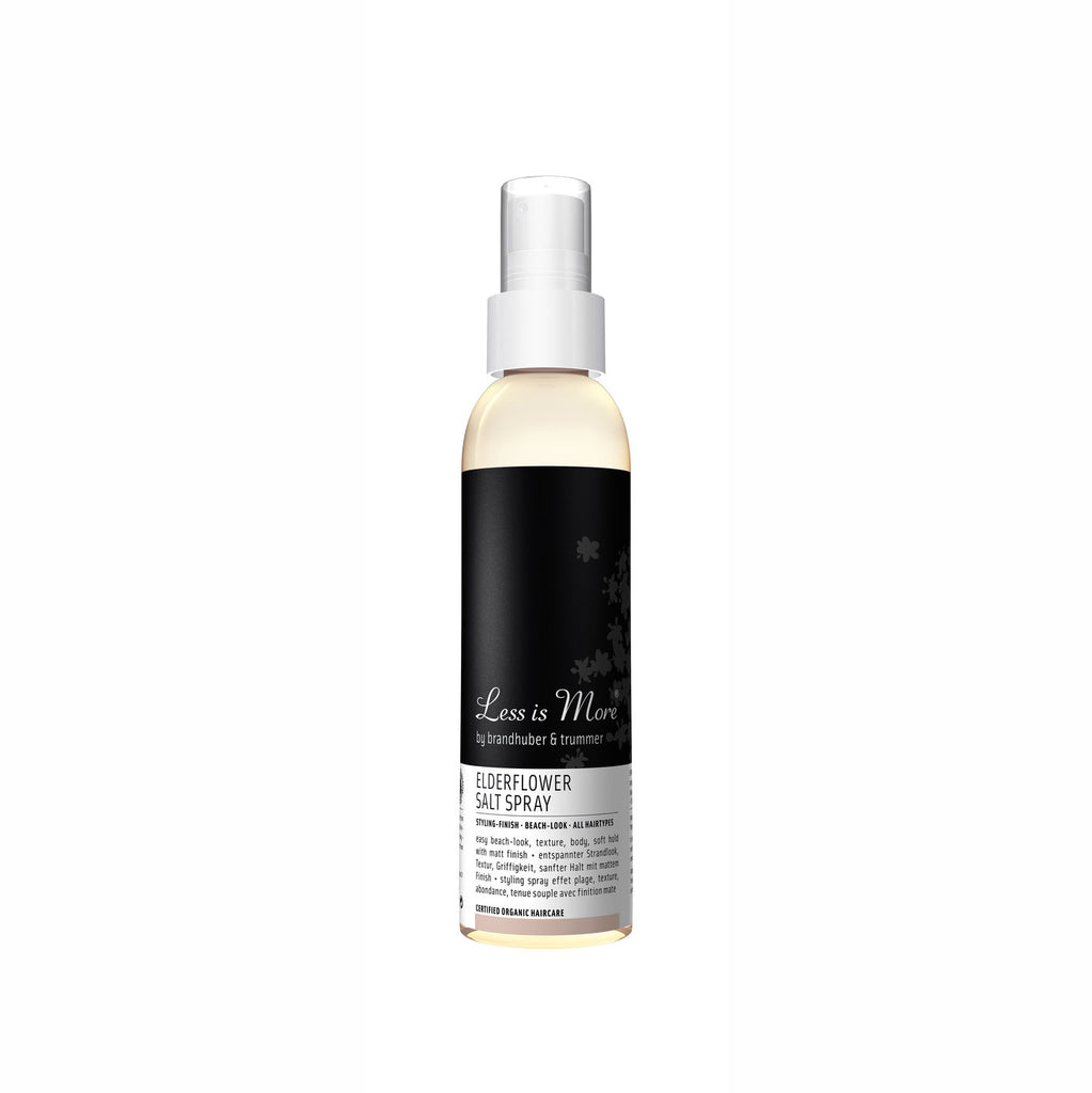 Elderflower Spray 150 ml von Less Is More | Styling | Naturkosmetik