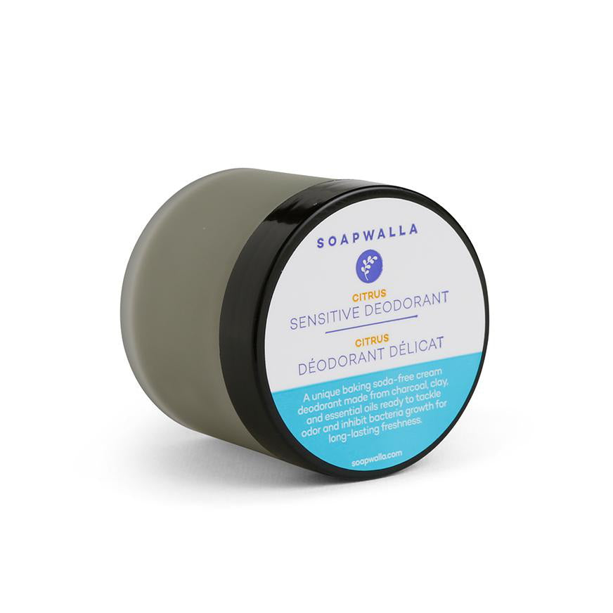 Soapwalla Sensitive Deodorant Citrus