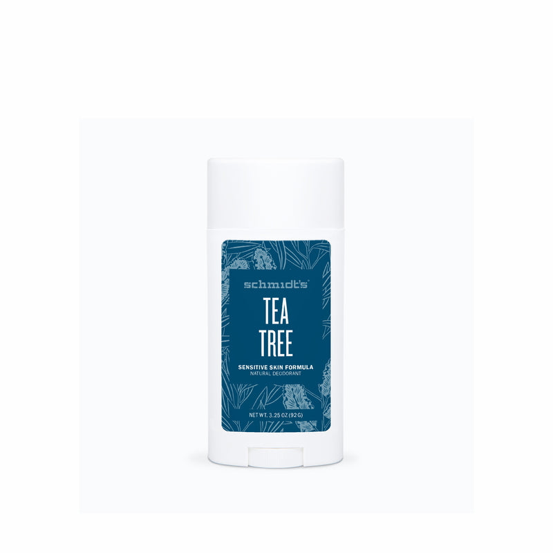 TEA TREE SENSITIVE SKIN DEODORANT STICK | SCHMIDT'S | Natürlich, Vegan, Bio, Natural | Online Shop Blanda Beauty
