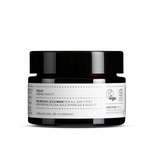 Evolve Organic Beauty Bio-Retinol Gold Face Mask 60 ml