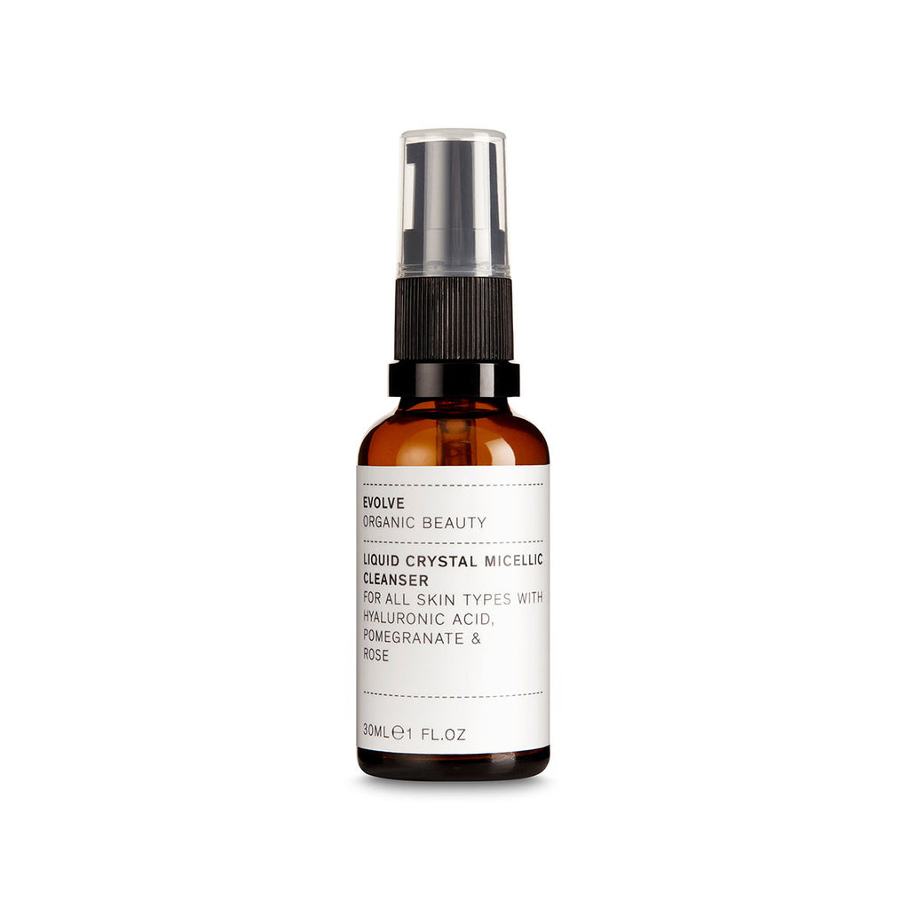 Liquid Chrystal Micellic Cleanser 30 ml von Evolve Organic Beauty | Reinigung | Naturkosmetik