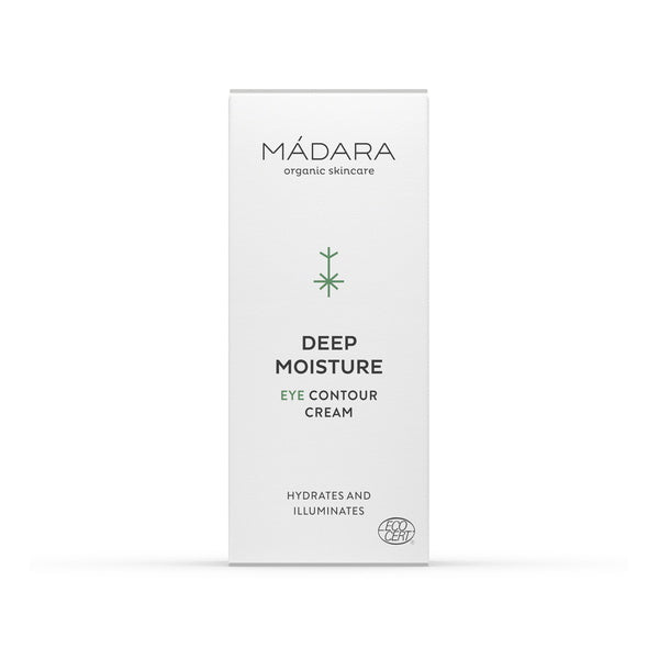 Mádara Deep Moisture Eye Contour Cream Packaging