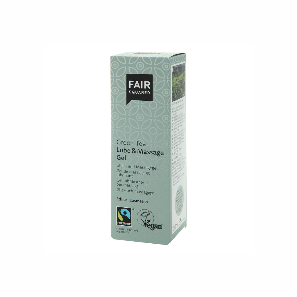 Lube & Massage Gel Green Tea 150 ml von Fair Squared | Intimpflege | Naturkosmetik
