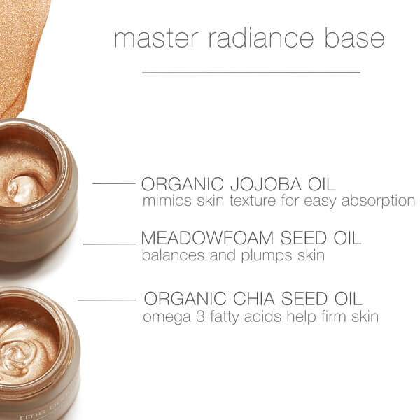 RMS Beauty Radianc Master Base Rich Ingredients