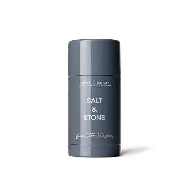 Salt & Stone Natural Deodorant Vetiver + Lemongrass + Sandalwood 75 g