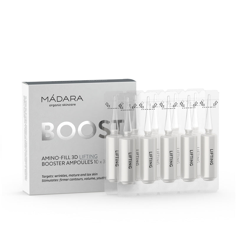 Mádara Boost: Amino-Fill 3D Lifting Ampullen 3 ml x 10 Stück