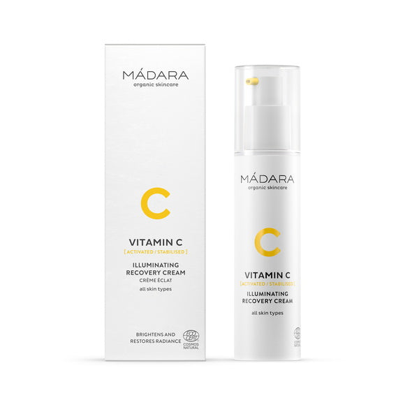 Mádara Vitamin C Illuminating Recovery Cream 50 ml
