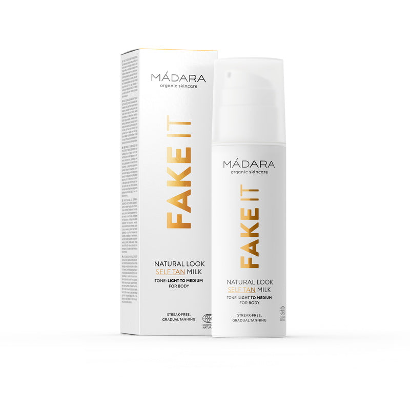 Mádara Fake It Natural Look Self Tan Milk 150 ml
