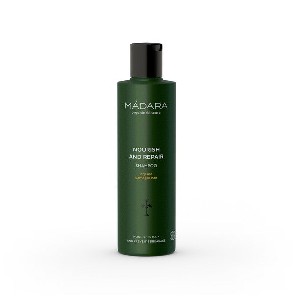 Nourish And Repair Shampoo 250 ml von Mádara | Shampoo | Naturkosmetik