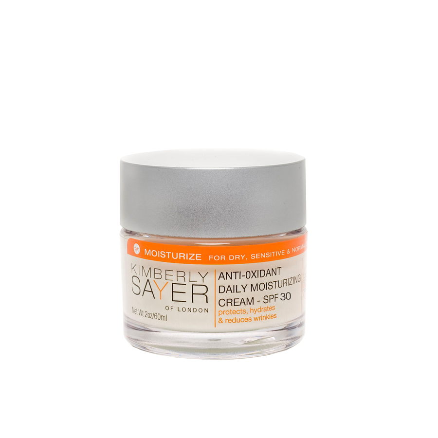 Anti-Oxidant Daily Moisturizing Cream SPF 30 - 60 ml von Kimberly Sayer Of London | Natürliche vegane Kosmetik