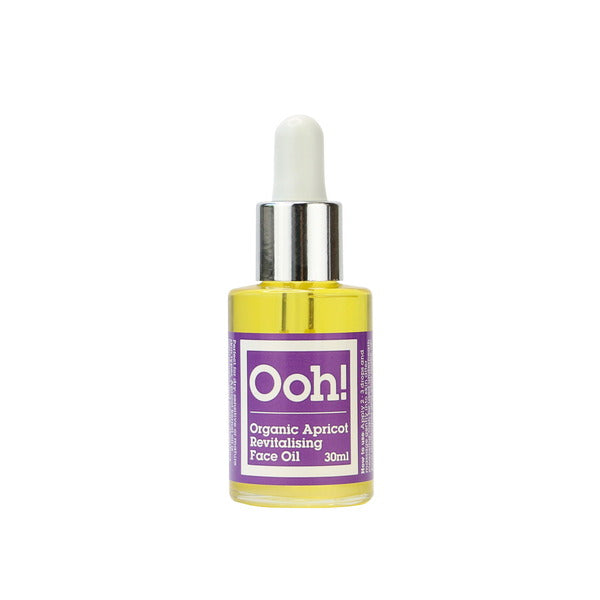 Ooh! Oils Of Heaven Organic Apricot Revitalising Face Oil