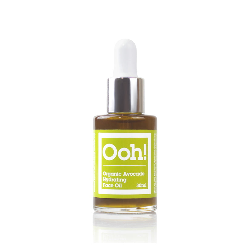 Ooh! Oils Of Heaven Organic Avocado Hydrating Face Oil 30 ml