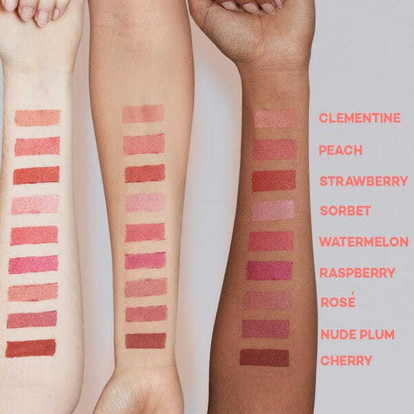 Axiology Lip to Lid Balmie Arm Swatches