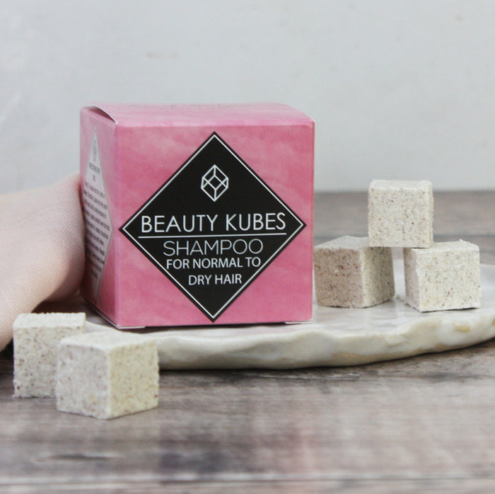 Beauty Kubes Zero Waste Shampoo For Normal To Dry Hair 100 g