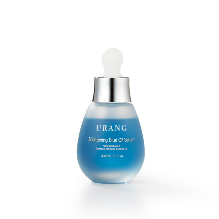 Brightening Blue Oil Serum 30 ml von Urang | Öl & Serum | Naturkosmetik