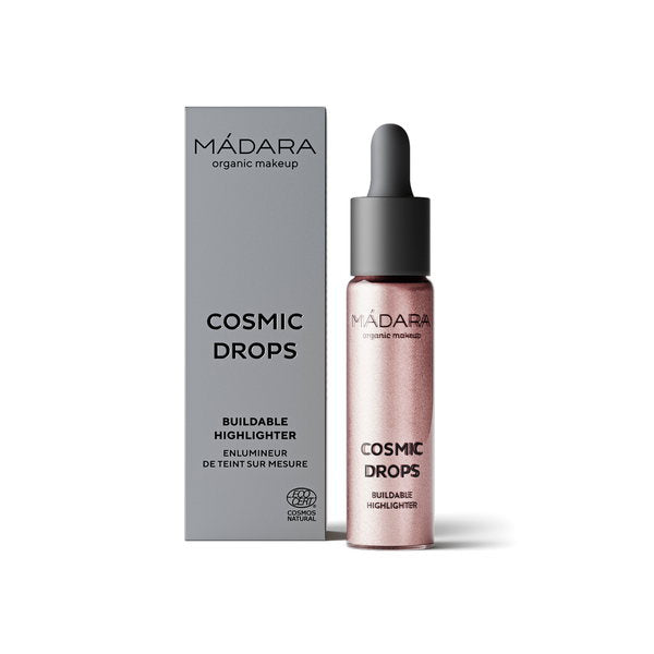 Cosmic Drops Liquid Highlighter 13,5 ml von Mádara | Highlighter | Naturkosmetik