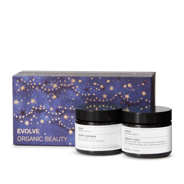 Evolve Organic Beauty Candlelight Glow Collection