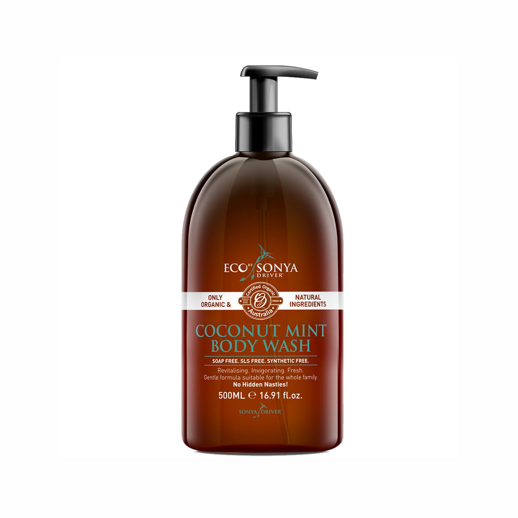 COCONUT AND MINT BODY WASH 500 ML from ECO BY SONYA at Blanda Beauty in Deutschland kaufen