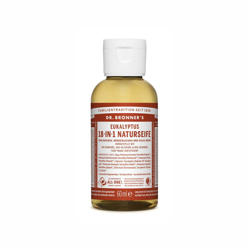 Dr. Bronner's 18-In-1 Naturseife Eukalyptus ab  60 ml