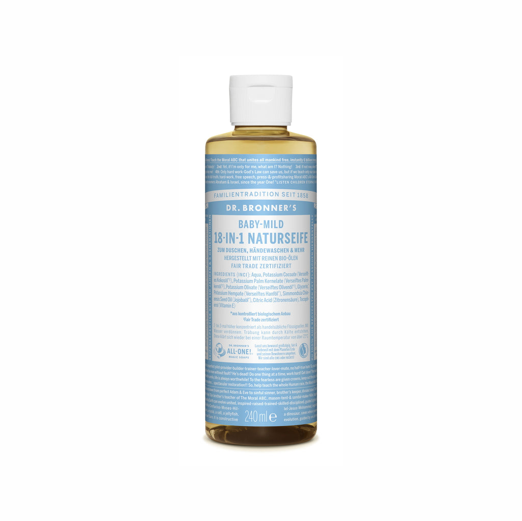 Dr. Bronner's 18-In-1 Naturseife Baby-Mild ab 60 ml