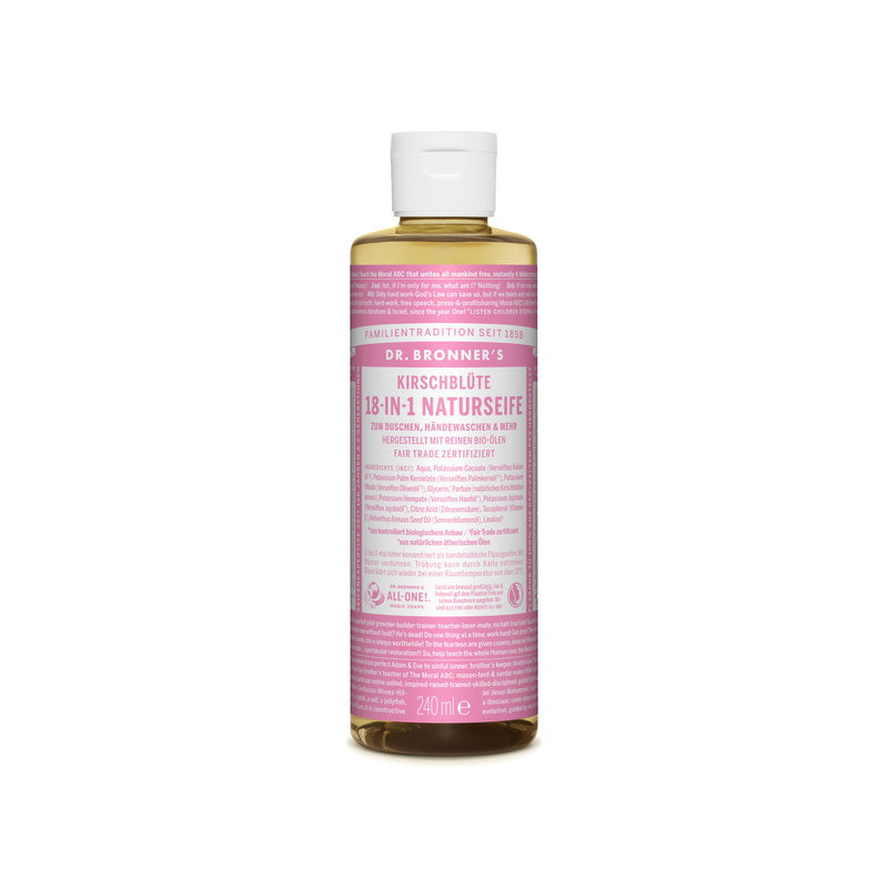 Dr. Bronner's 18-In-1 Naturseife Kirschblüte 60 ml