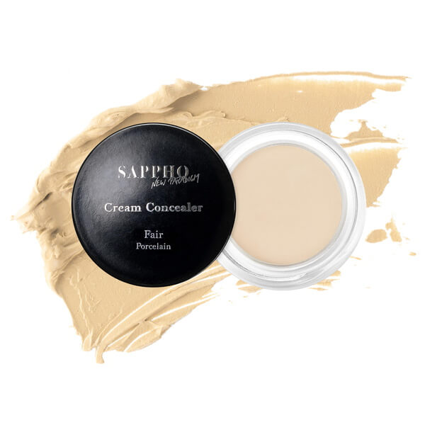 Sappho New Paradigm Cream Concealer Fair - Swatch