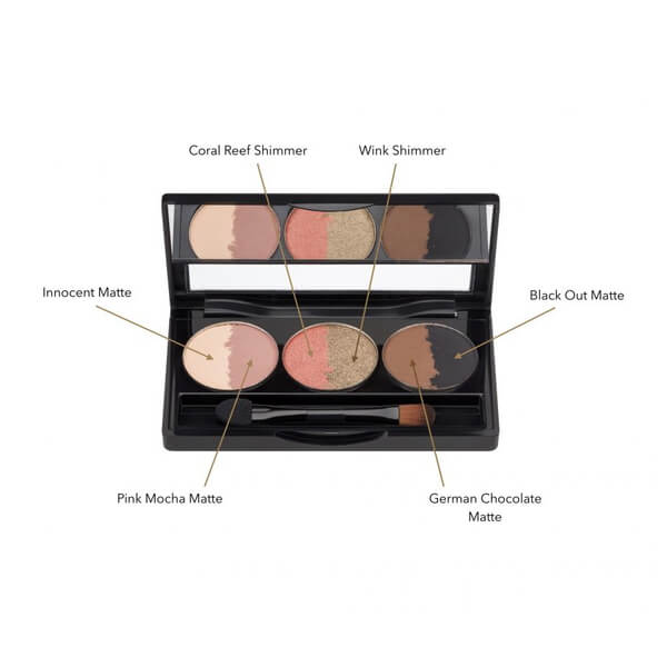 Hynt Beauty Suite Eye Shadow Palette - Sweet Six Sahara 4.5 g