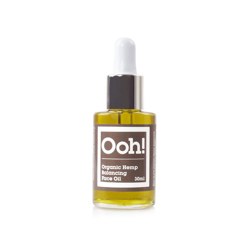 Organic Hemp Balancing Face Oil 30 ml von Ooh! Oils Of Heaven | Öl & Serum | Naturkosmetik
