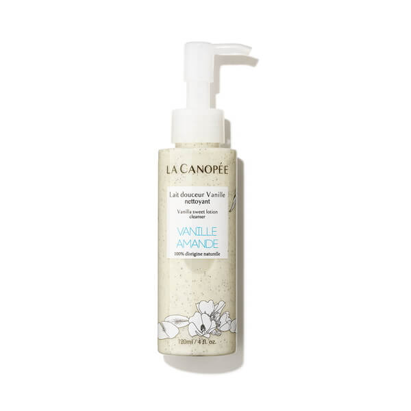Vanilla Sweet Lotion Make-Up Remover and Cleanser 120 ML von La Canopée | Reinigung | Naturkosmetik