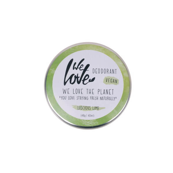 We Love The Planet Deocreme Luscious Lime 48 g
