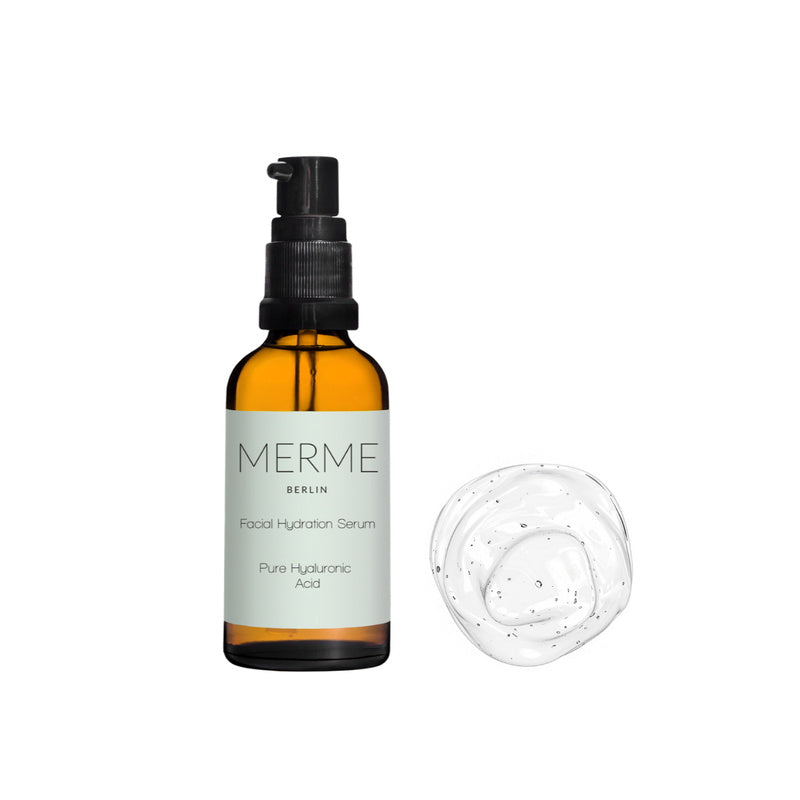 Facial Hydration Serum - Pure Hyaluron Acid 30 ml von Merme Berlin | Öl & Serum | Naturkosmetik