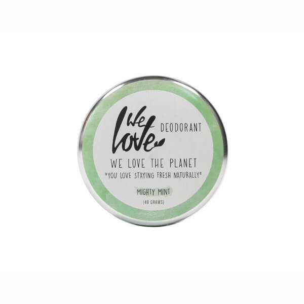 We Love The Planet Deocreme Mighty Mint 48 g