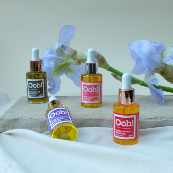 Ooh! Oils Of Heaven Natural Raspberry Repairing Face Oil