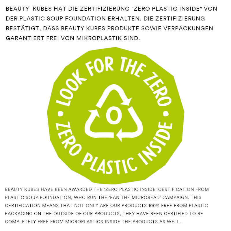 Beauty Kubes Zero Waste Shampoo Sensitive 100 g