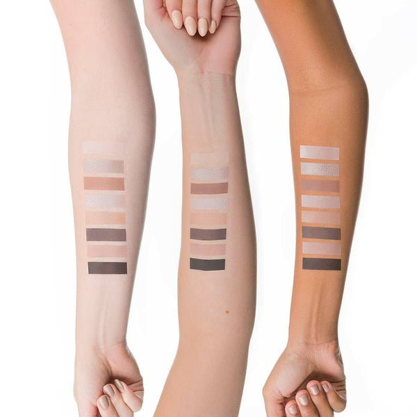 Lily Lolo Pedal To The Metal Eye Shadow Palette Swatches on arm