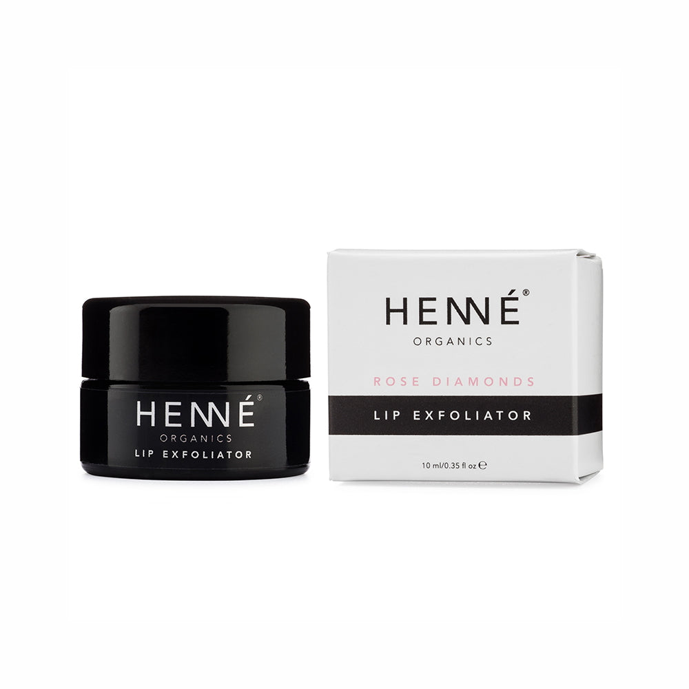 Henné Organics Lip Exfoliator Rose Diamonds 10 ml